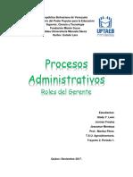Procesos Administrativos y Gerencia NUEVO