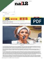 Mensaje de Odio Disciplinador _ Marielle Franco Luc... _ Página12