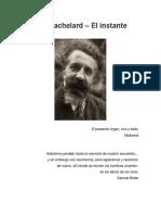Gaston Bachelard - El Instante