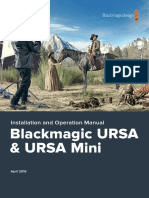 Blackmagic URSA Manual