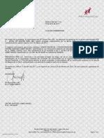 Carta de No Adeudo