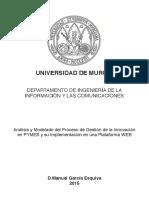 Análisis y Modelado del Proceso de Gestión de la Innovación en PYMES