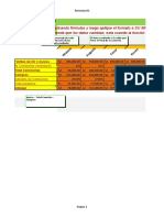 Ejercicio de Formulas y Formatos