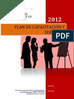 Plan de Capacitación y Servicios 2012 Operación
