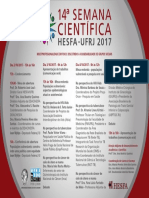 XIV Semana Científica HESFA 2017 Folder v3