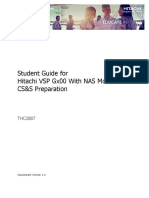 Student Guide for Hitachi VSP Gx00 CS&S Preparation