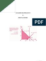 Analisis matematico inecuaciones
