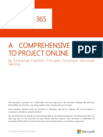 A Comprehensive Guide to Project Online