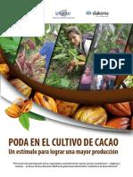 Rotafolio de Podas en Cacao
