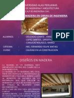 Exposicion Calidad en La Construccion - Diseño en Madera