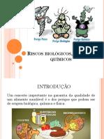 Riscos Biológicos, Físicos e Químicos 1