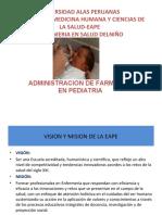 Administracion de farmacos en pediatria
