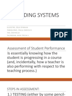Grading Systems
