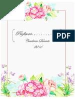 Cuaderno Docente Floral