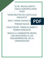 Centro de Bachillerato Tecnologico Agropecuario Nª233