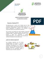 Curso Manejo Residuos Organicos y Elaboracion de Abonos, Material Escrito