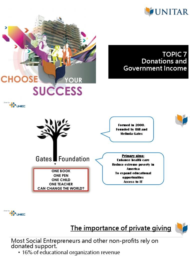 TOPIC 7 pptx | Social Entrepreneurship | Entrepreneurship