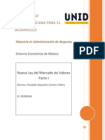 Nueva Ley Del Mercado de Valores Parte I (Editado)