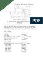 Harvest Moon Walkthrough.txt