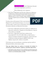 Documentos Importantes Para Apostillar Son Los Diplomados