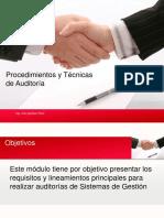1 Procedimientos y Tecnicas de Auditoria