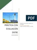 Práctica Con Evaluación Entre Compañeros de Energías Limpias.