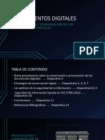 Preservación y Conservación de Los Documentos Digitales.
