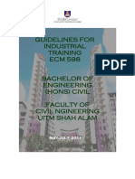 Guidlines for Industrial Training 2016