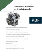 Rendimiento Termico Motor Diesel
