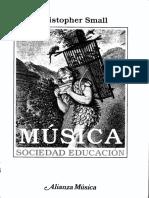 Christopher Small Musica Fuera Del Marco Europeo