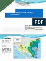 Presentación No.2 Hidrologia_2018