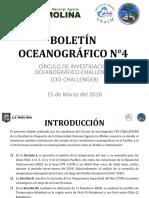 BOLETIìN OCEANOGRAìFICO N°4