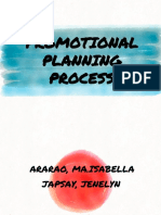 Promotional Planning Process