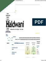 Haldwani Nainital Bus Train Flights - Bus Time Table - Train Table - Flights Schedule Haldwani.co