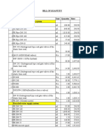 Hawassa Project Contract and Site Data Boq