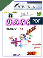 Bases Concurso de Jazz 2017