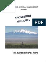 Yacimientos Minerales 1ra Clase