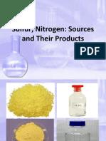 Sulfur and Nirogen Industries