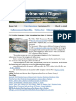 Pa Environment Digest March 19, 2018