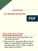 Loi Nhuan Va Rui Ro-hoche