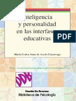 Inteligencia y Personalidad en las Interfases Educativas - María Luisa Sanz.pdf