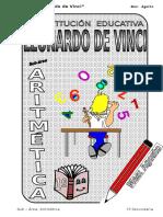 3. AGOSTO - ARITMÉTICA - 1er Año.doc
