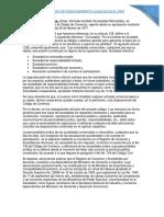 Sociedades de comercio vigentes en Bolivia