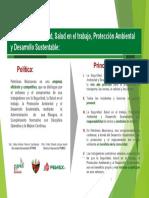 Politica y Principios SSPA PEP 2016