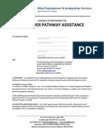 Caregiver Pathway Agreement