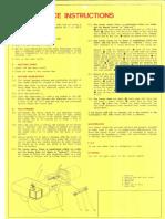 Riello Burner Maintenance Instructions