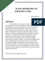 Mathematics Article