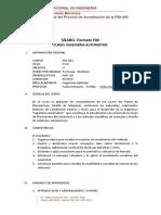 Mc822 Silabo Por Competencias Ing Automotriz
