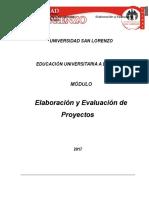 GD Elaboracion y Evaluacion de Proyectos