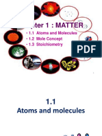 1.1 Atoms and Molecules